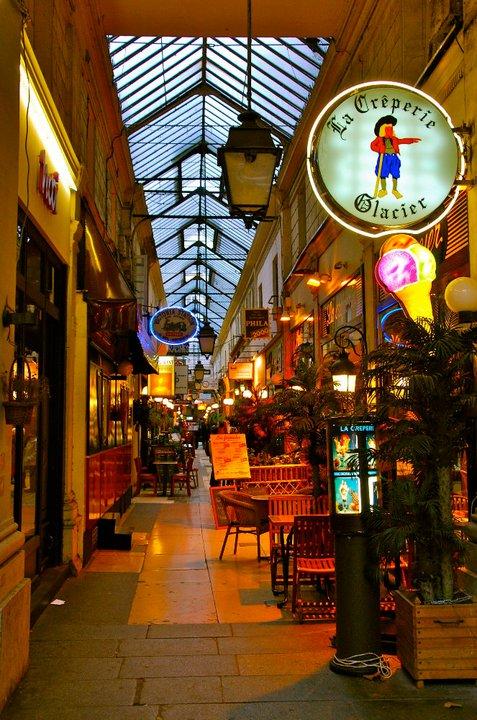 Pasaże Paryża - passage panoramas