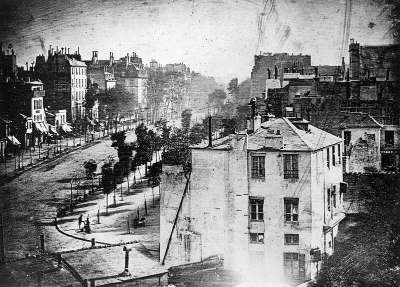 najstarsze zdjecie Paryza