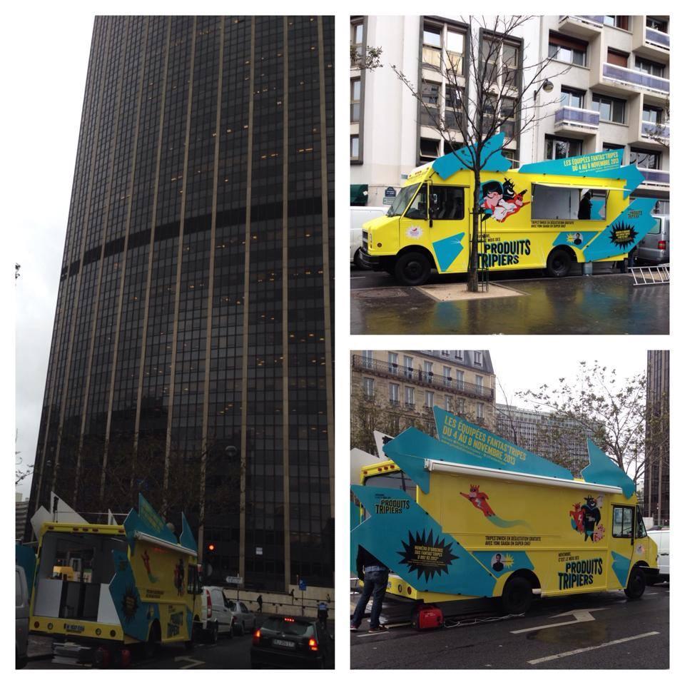 food truck naulicach Paryza