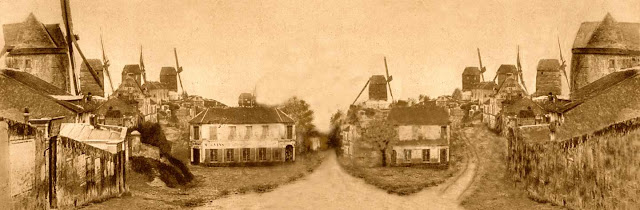 najstarsze zdjecie Montmartre
