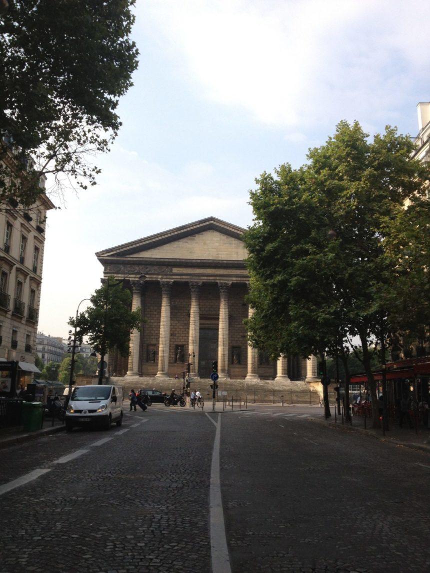 Paryski kościół – La Madelaine