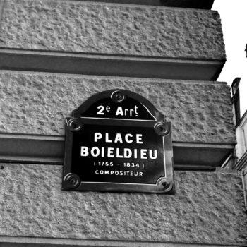 paryskie place -Plac Baieldieu