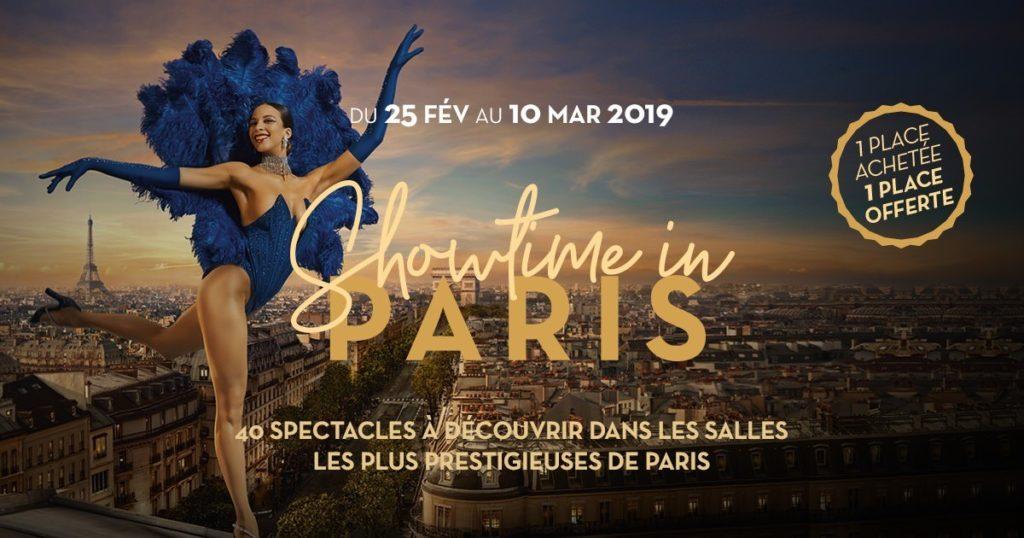 Showtime in Paris 2019