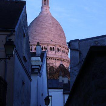 Salvador Dalí na Montmartre