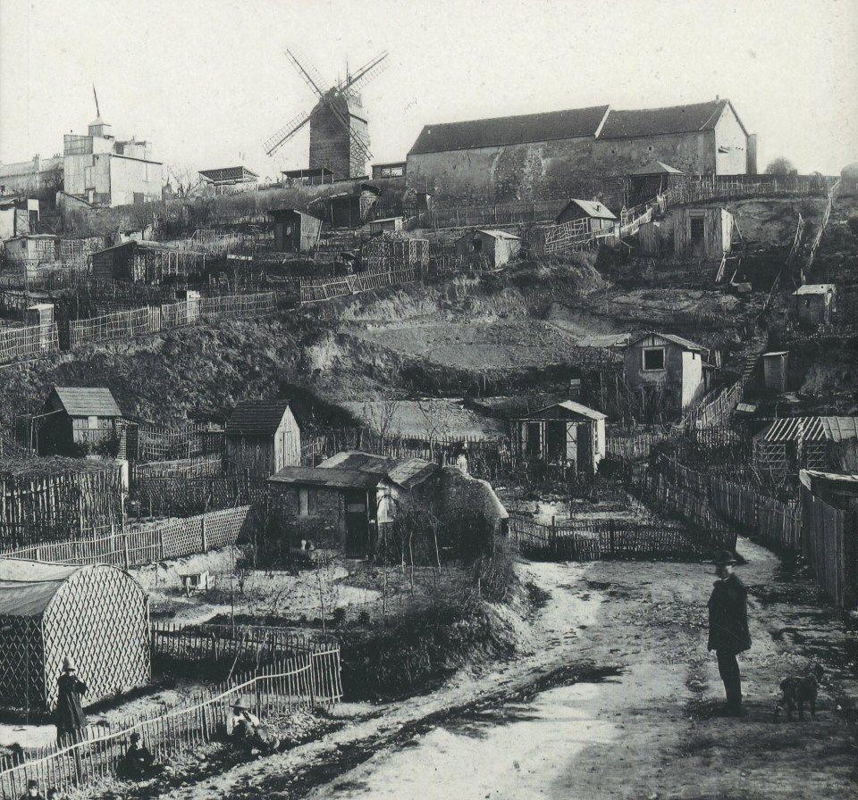 Montmartre na początku XX wieku
